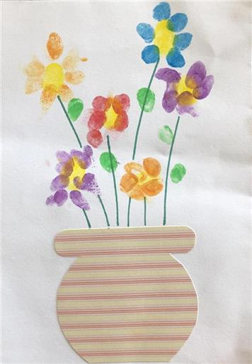 spring Flowers by Imogen aged 4 - April 22nd Update