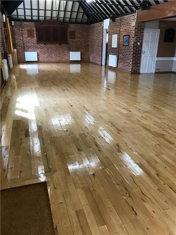 Hall floor - June Update - Village News